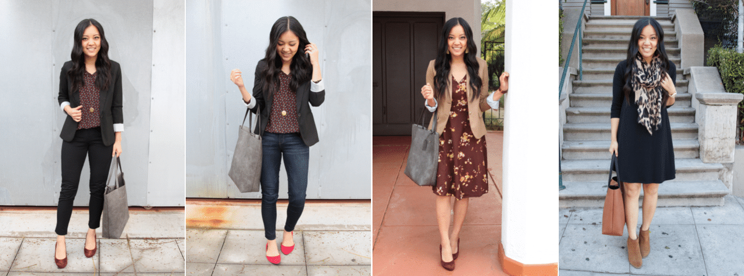 How to Do Business Casual Outfits Dressed Up or Down