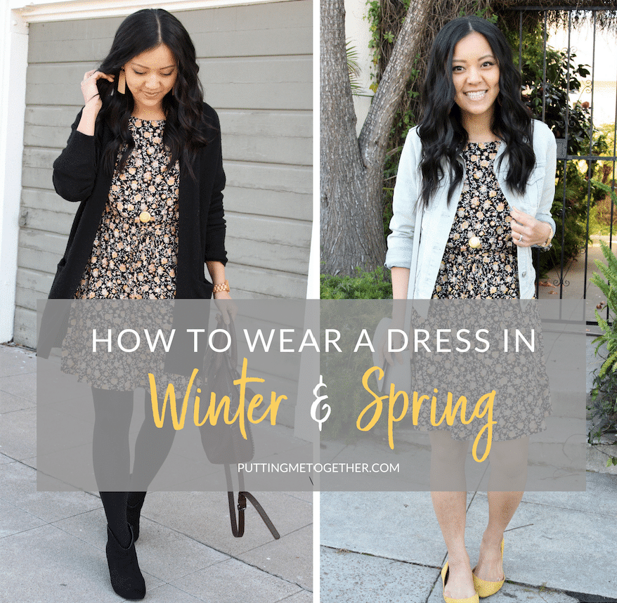 How to Wear a dress for different seasons