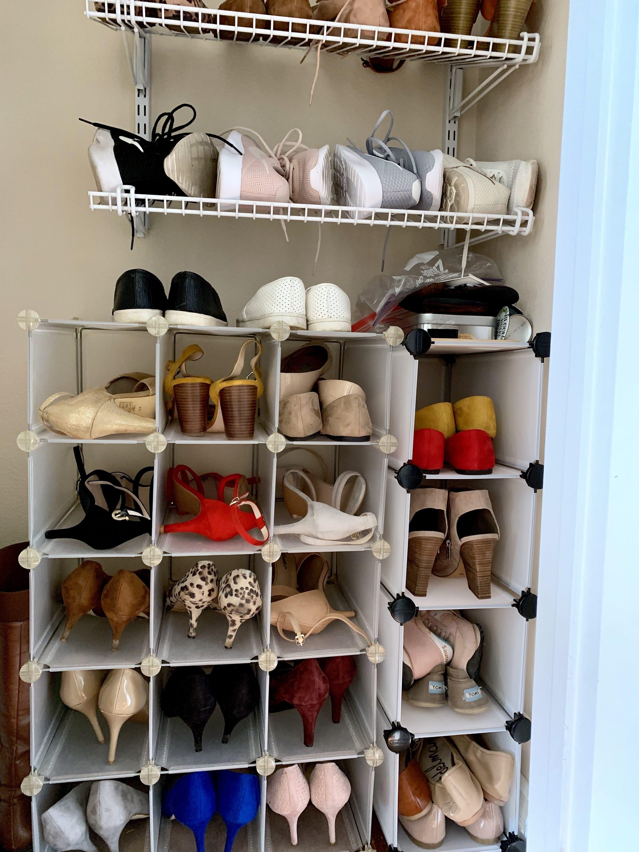 Shoe Closet Organization