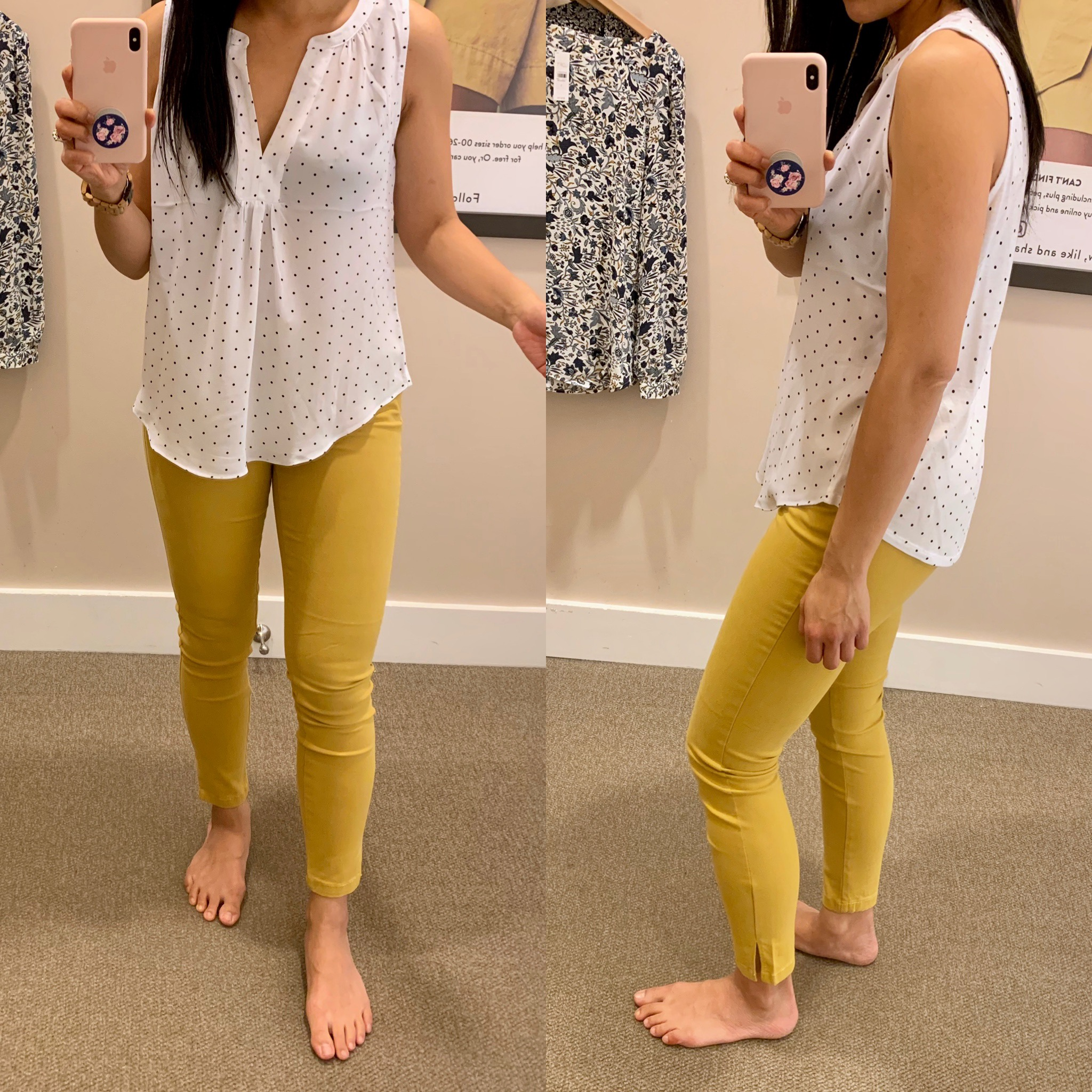 Mustard Yellow Pants