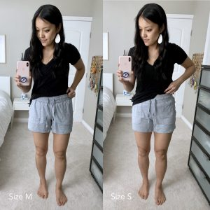 Amazon + grey shorts