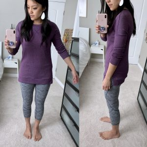 Amazon + Purple tunic
