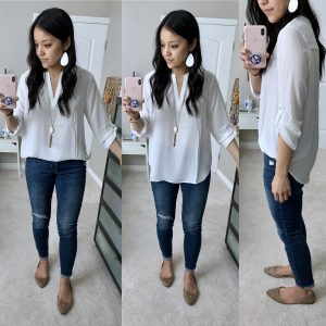 Nordstrom + Everleigh + White Top