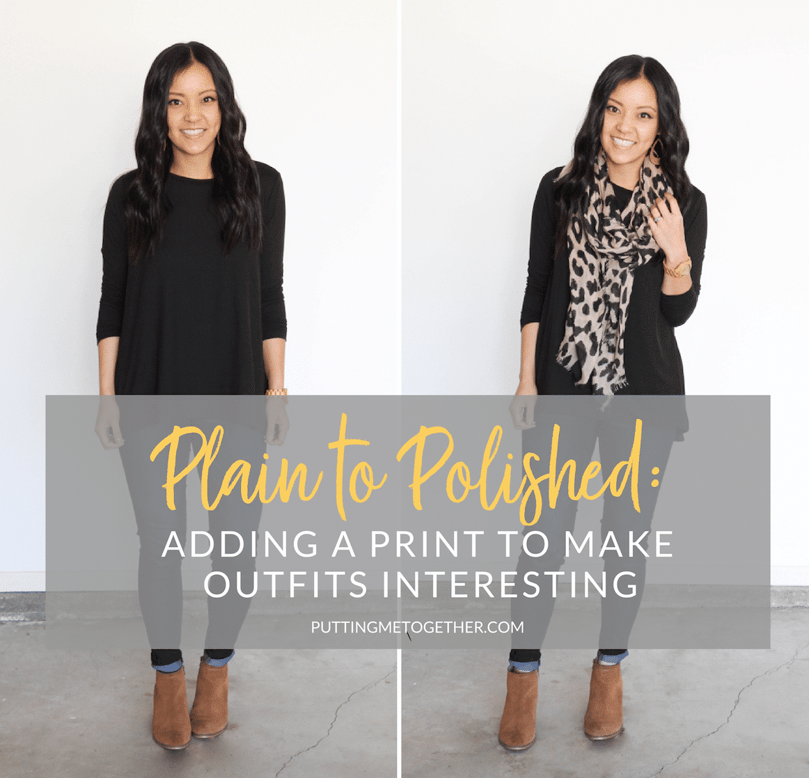 Plain to Polished: Adding a Print to Make Outfits Interesting