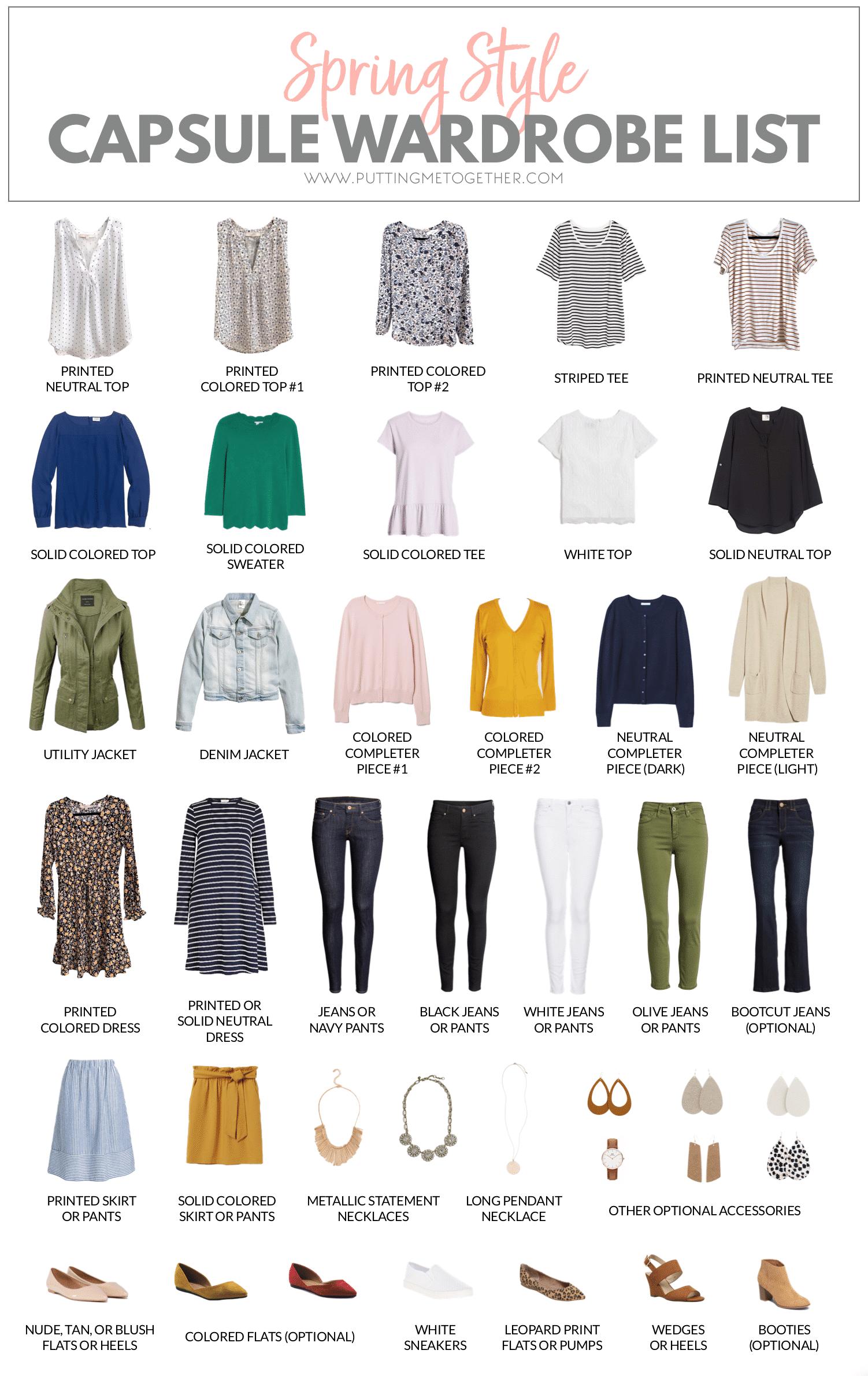 Capsule Wardrobe 2020 Fall.Spring Capsule Wardrobe For 2019 15 Off Nickel Suede