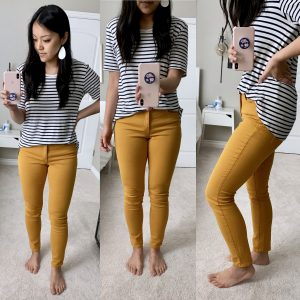 Target + Mustard + Yellow Jeans