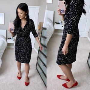Target + Polka Dot Dress