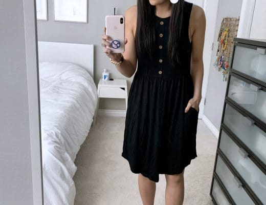 Button Jersey Dress