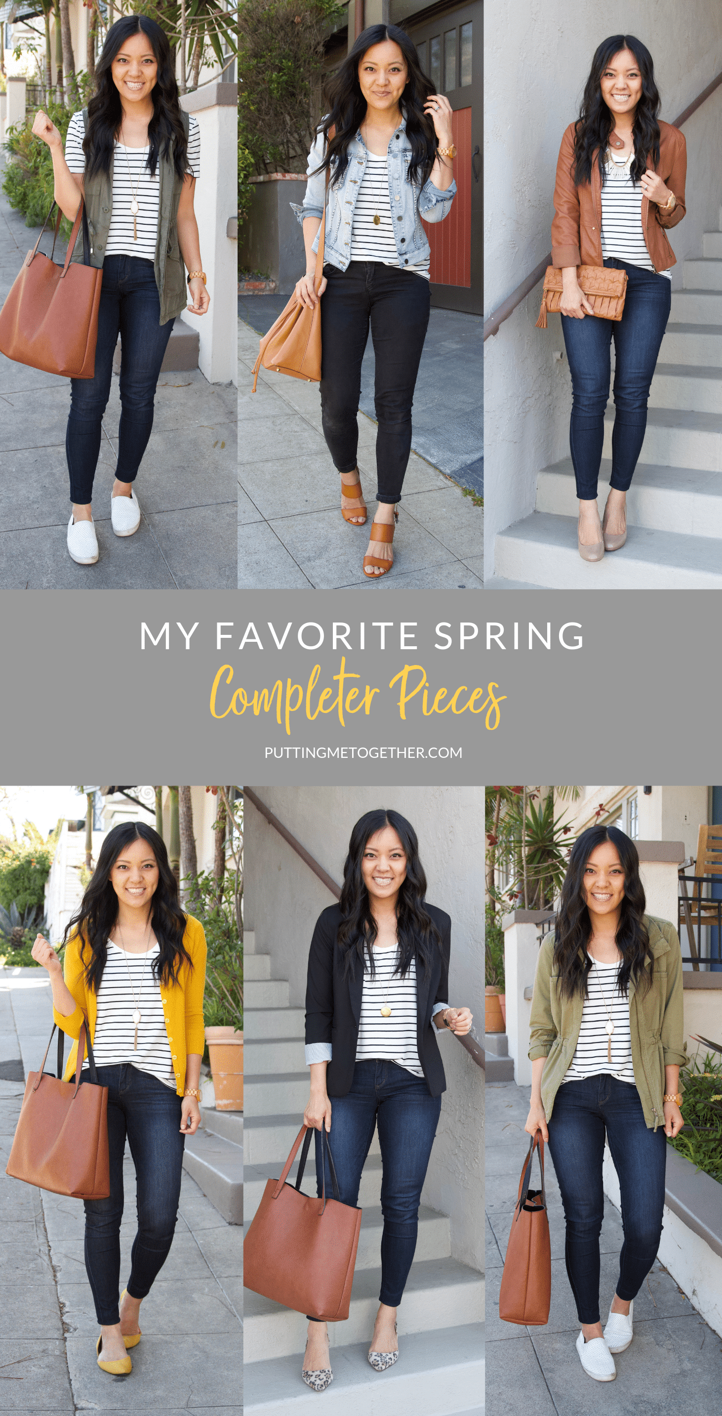 My favorite Spring Completer Pieces