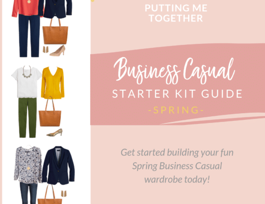 NOW AVAILABLE: Spring Business Casual Starter Kit Wardrobe Guide