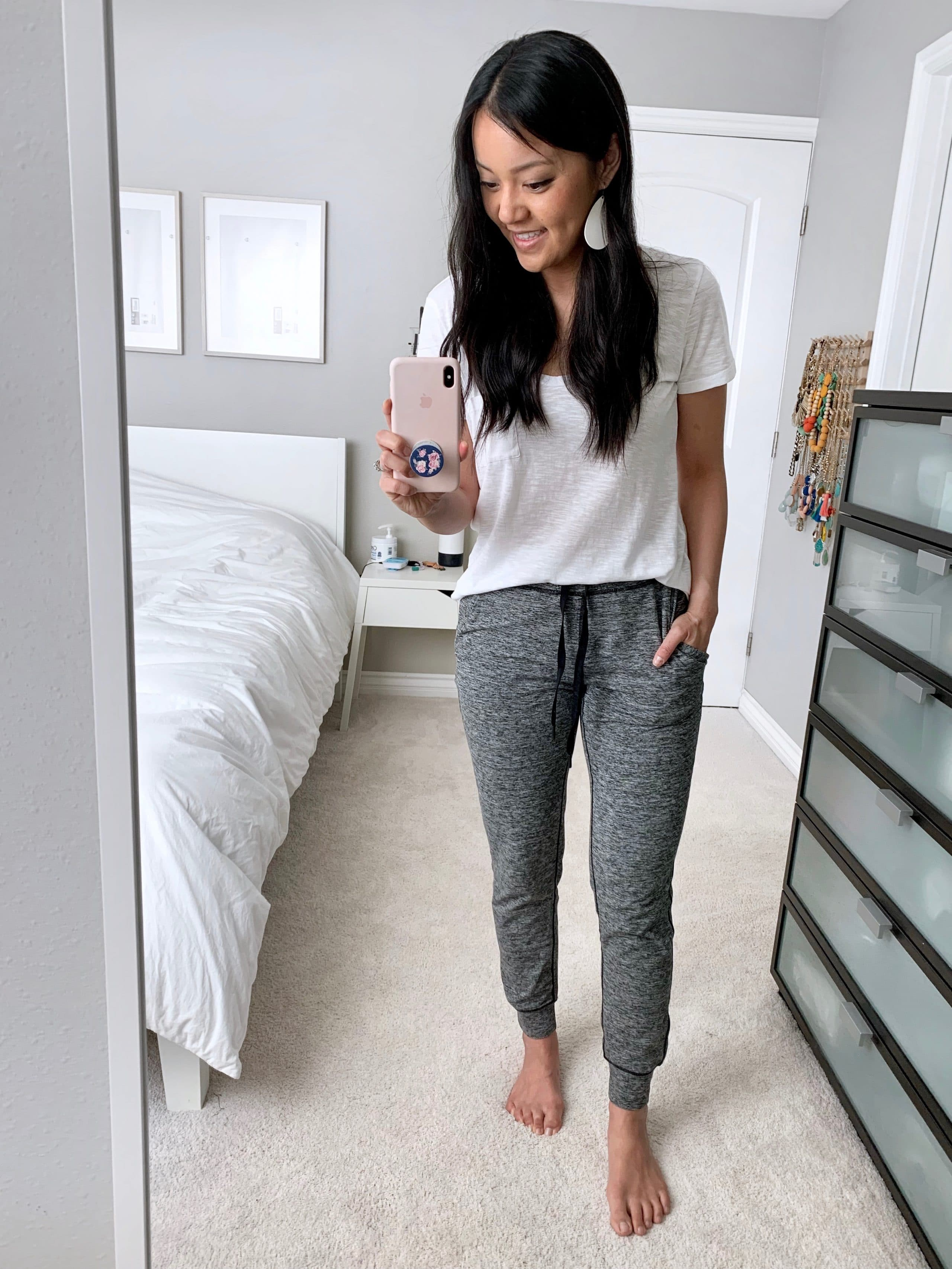 Comfy Athleisure Outfit with Joggers