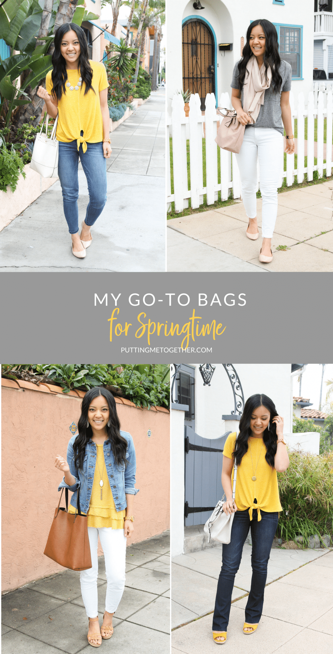 My Go-To Bags for Spring