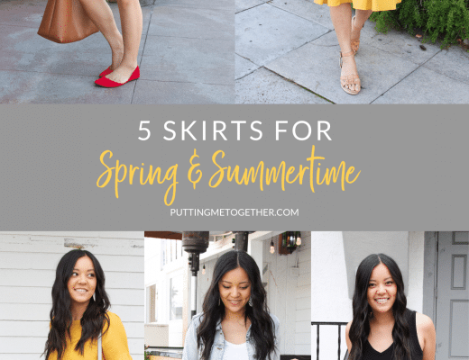 Five Skirts for Spring and Summer
