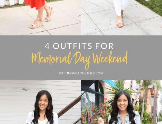 Four Outfits for Memorial Day Weekend