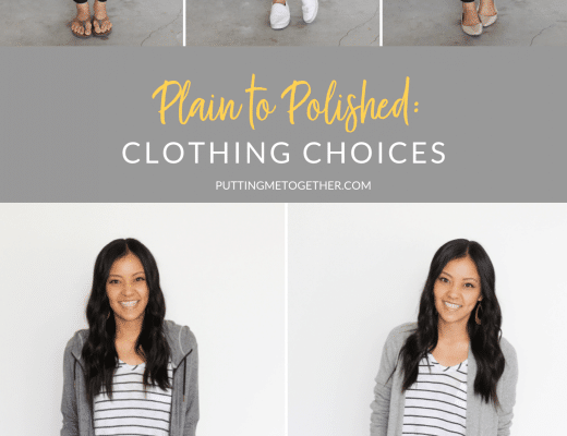 Plain to Polished: Adjusting Your Clothing Choices