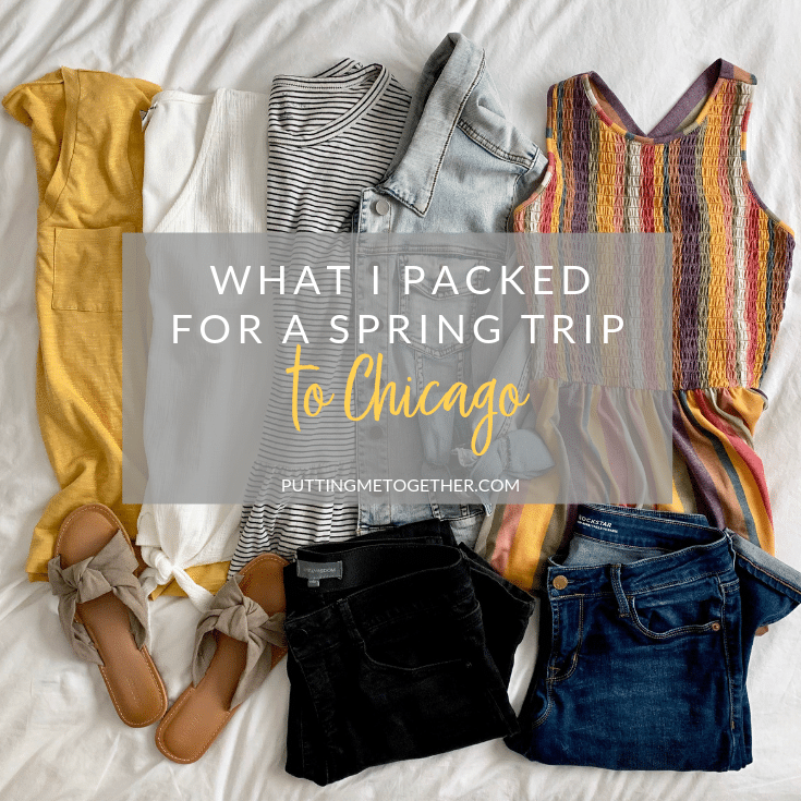 My Packing List For A Quick Chicago Trip What To Pack For A Spring Trip