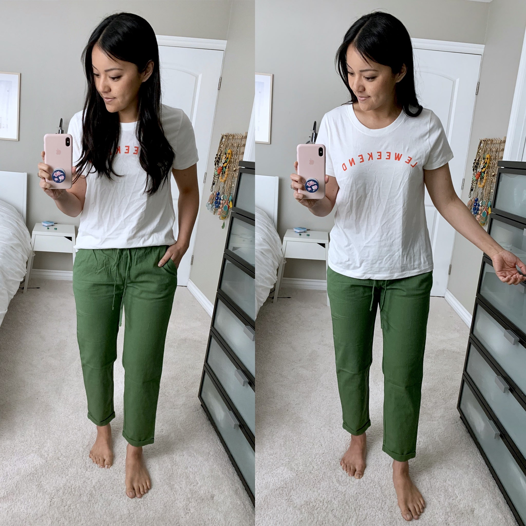 j.crew factory le weekend tee review