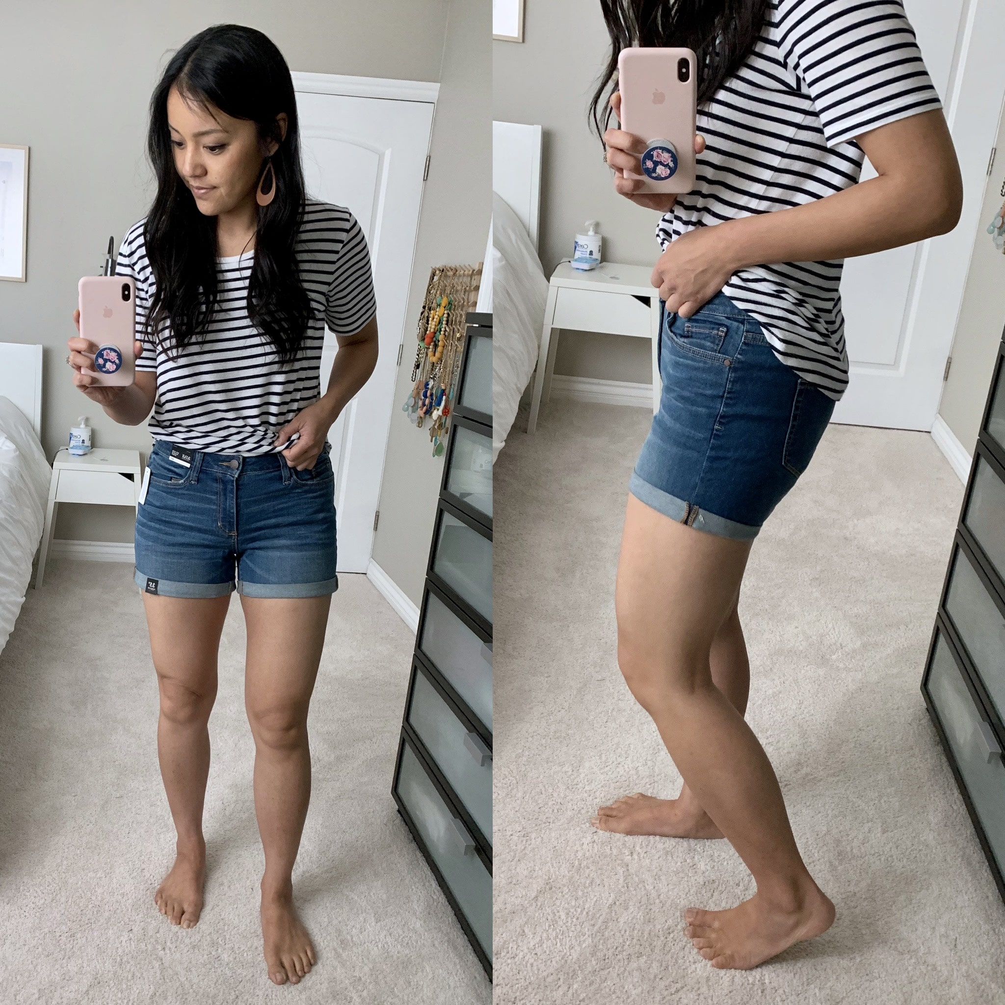 jcpenney denim shorts reviews