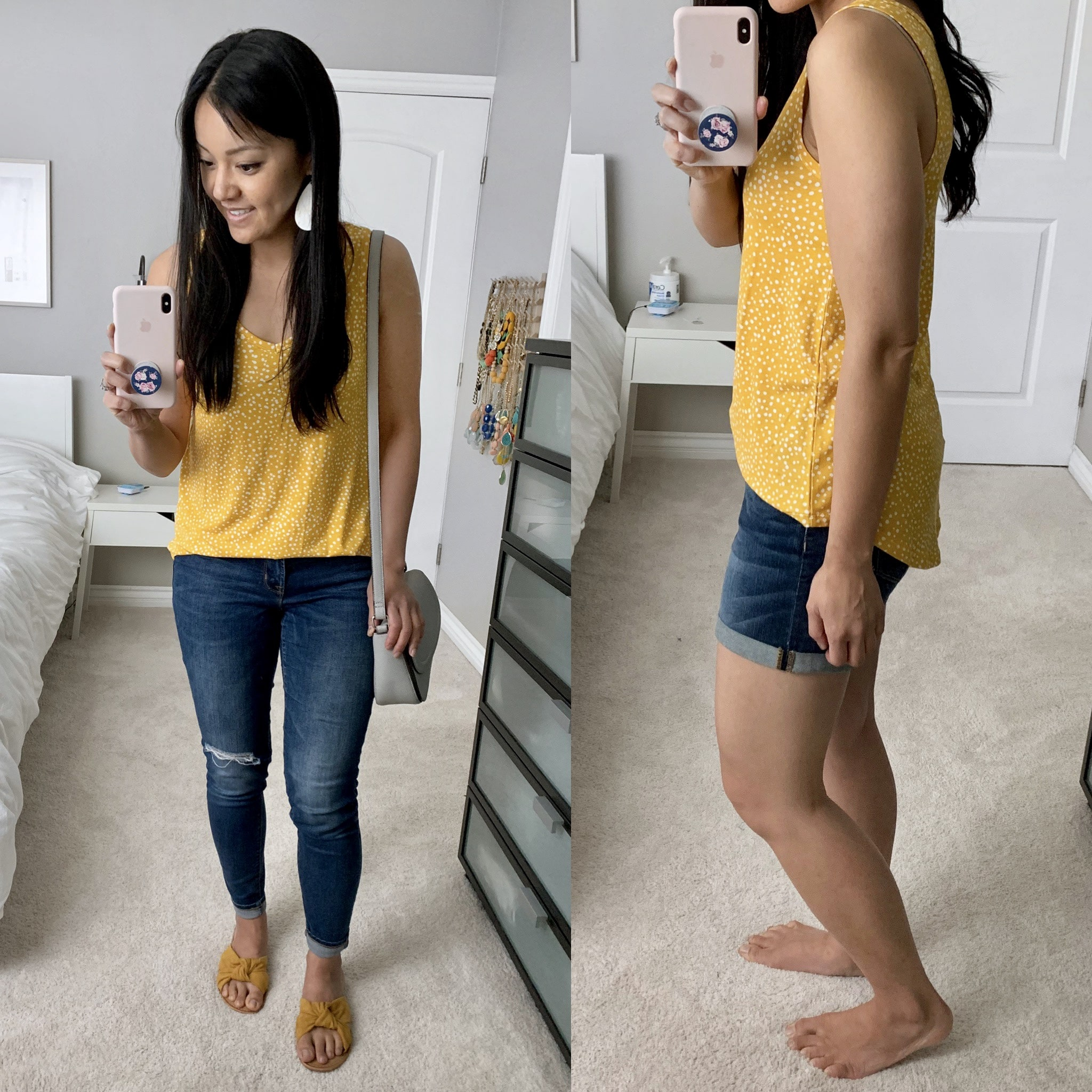 jcpenney yellow tank review