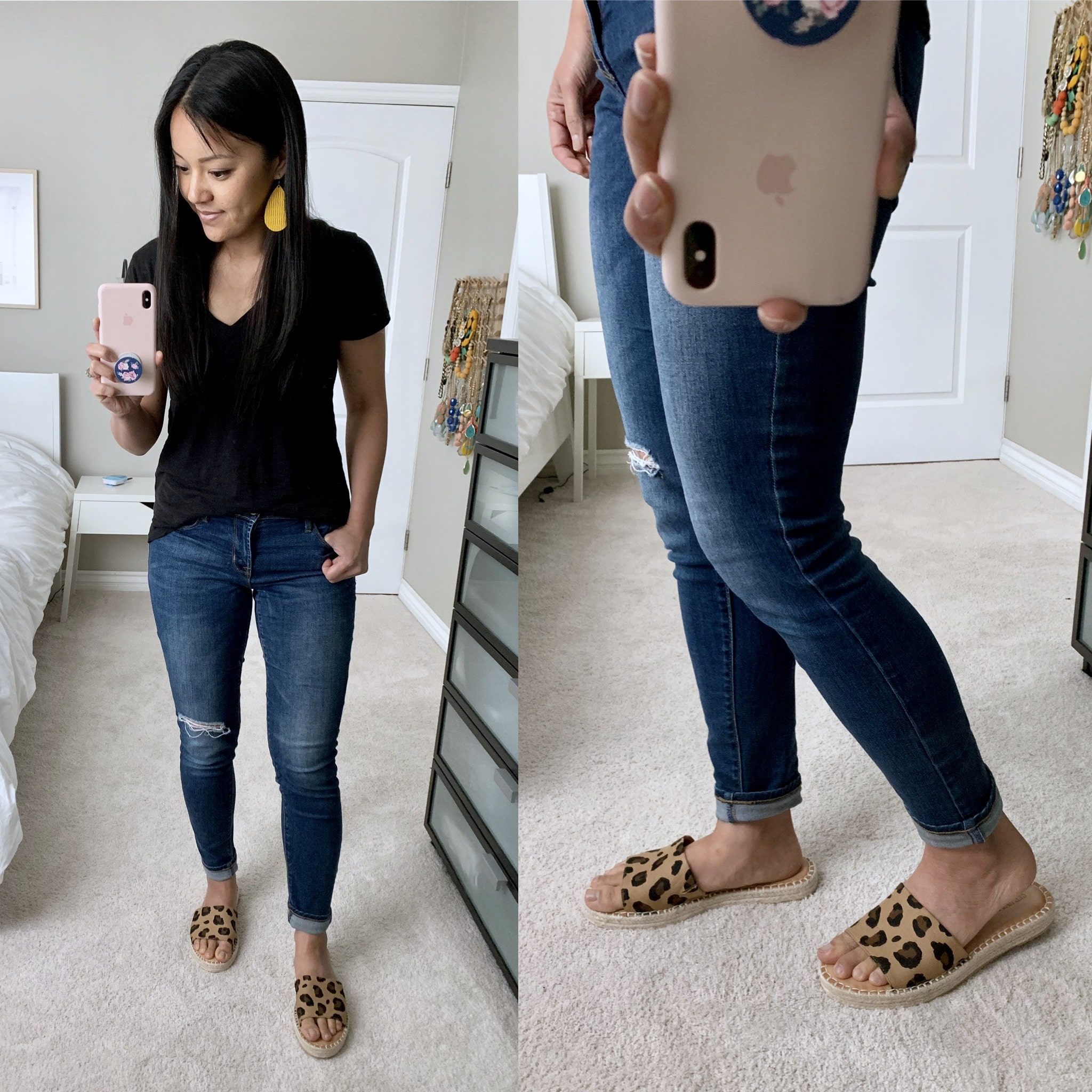 old navy leopard print espadrilles review