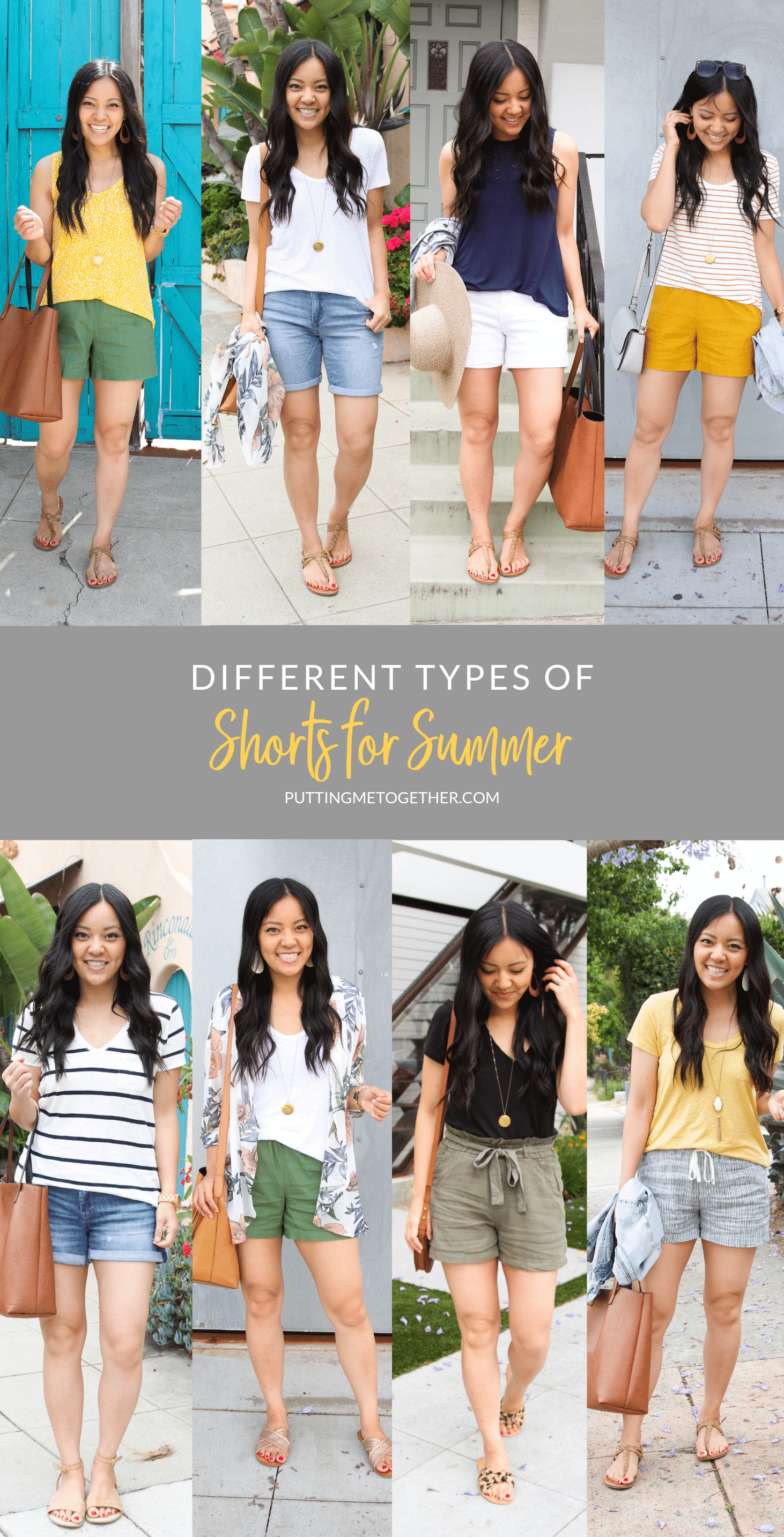 5 Types Of Casual Shorts For Summer
