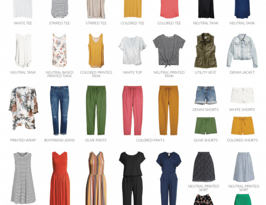 Summer Capsule Wardrobe - Casual and Comfortable