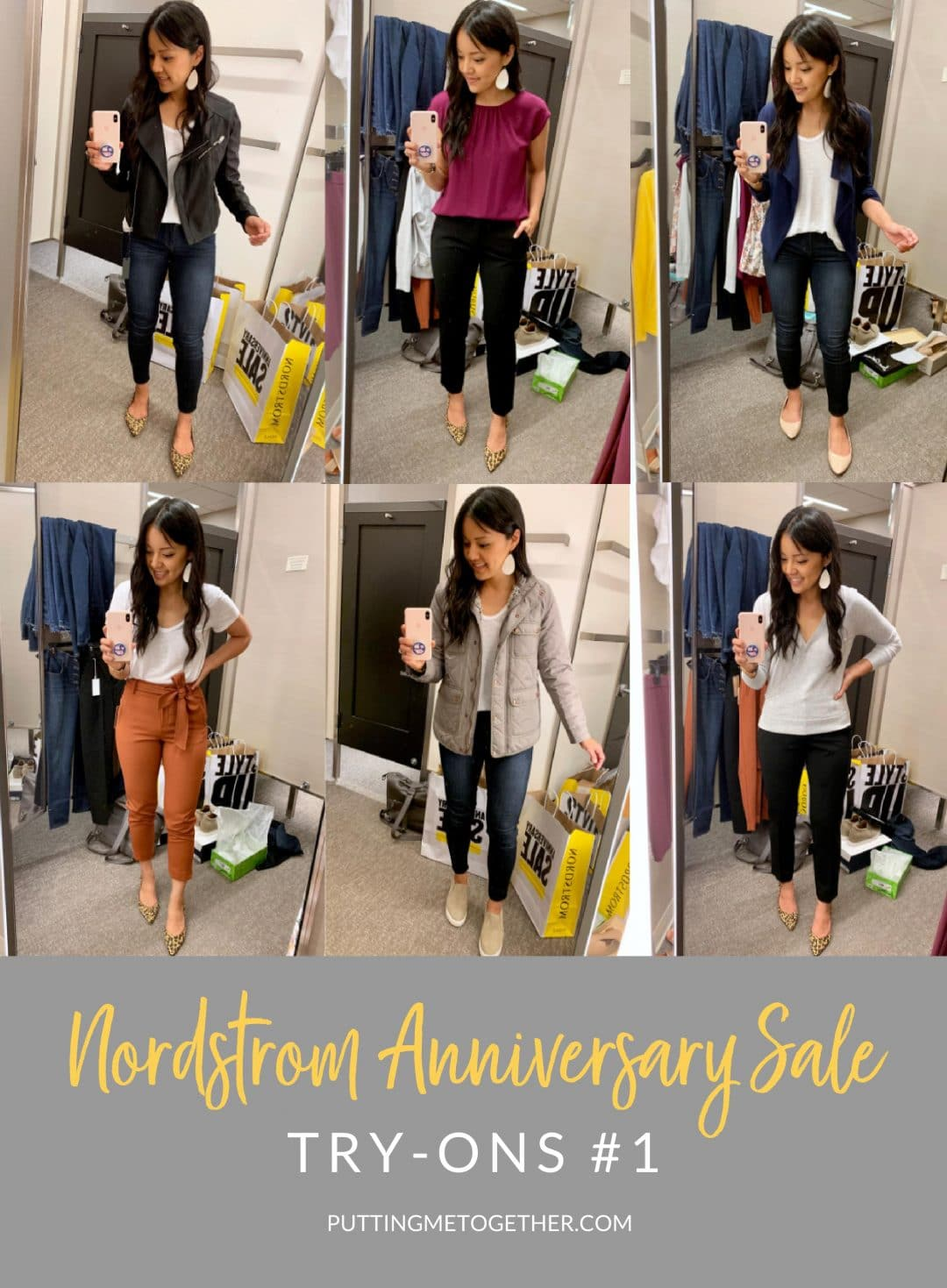 Nordstrom Anniversary Sale Try Ons #1 - Fall Casual Staples under $50, Outerwear, and Workwear