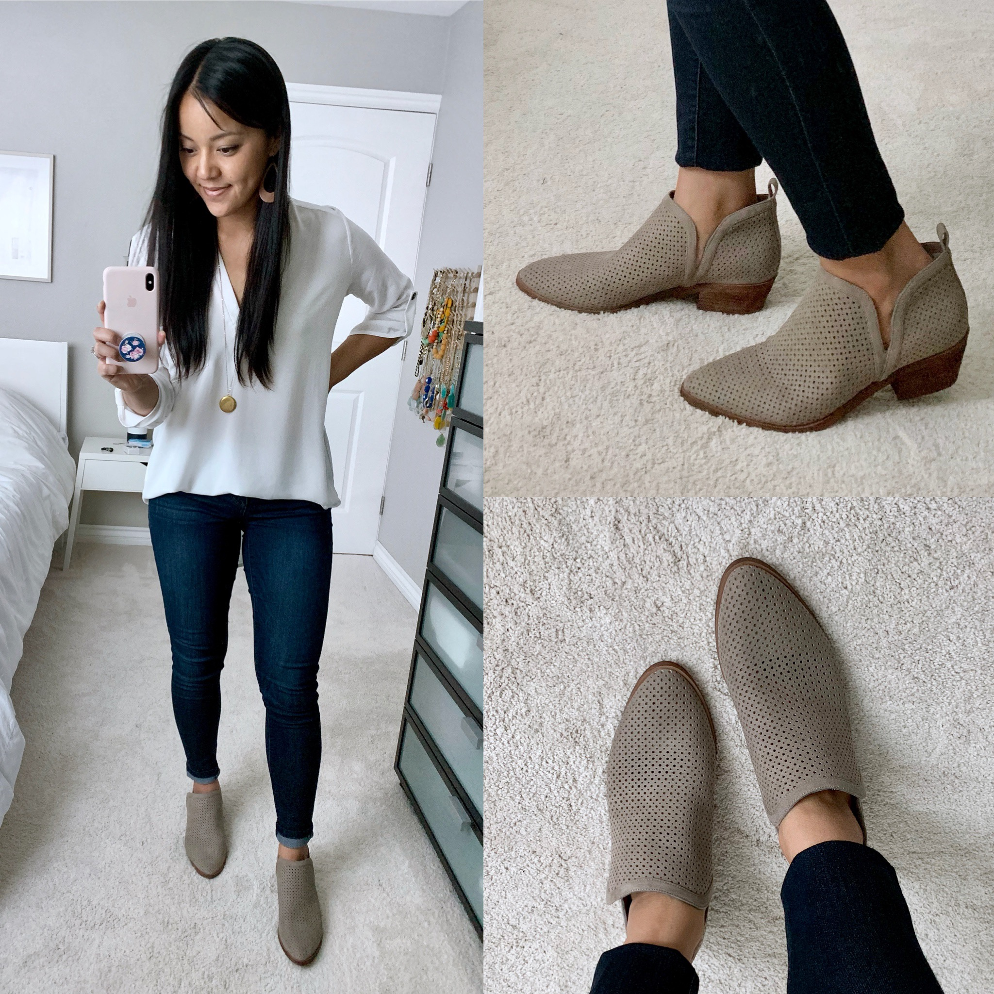 BP Perforated Bootie Review