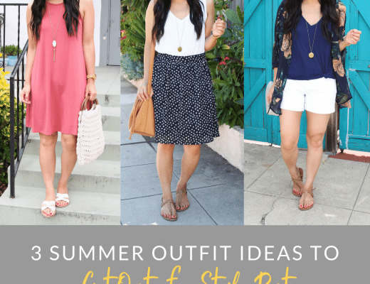 3 Casual Summer Outfit Ideas to Get Out of a Summer Style Rut