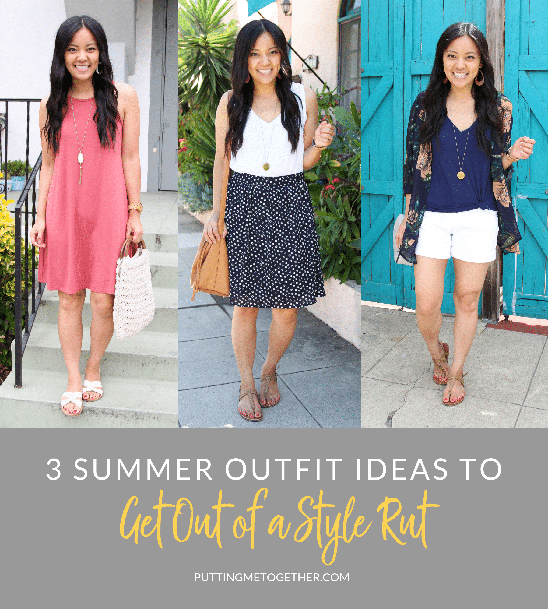 3 Summer Outfits to Get out of a Style Rut