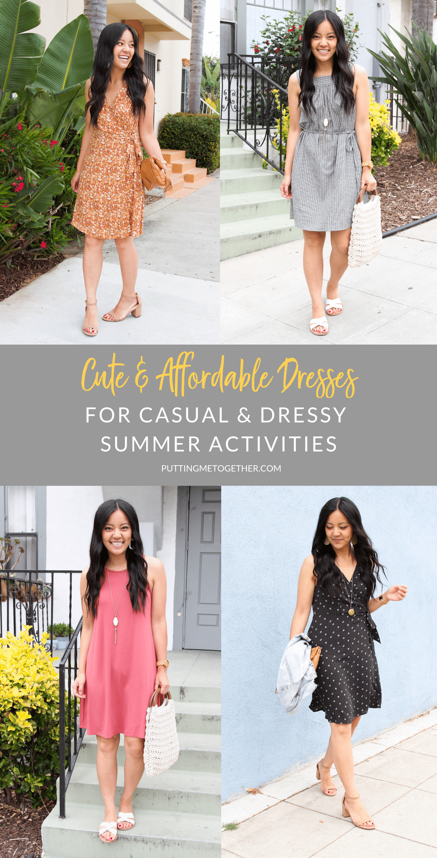 Cute and Affordable Dresses for Summer