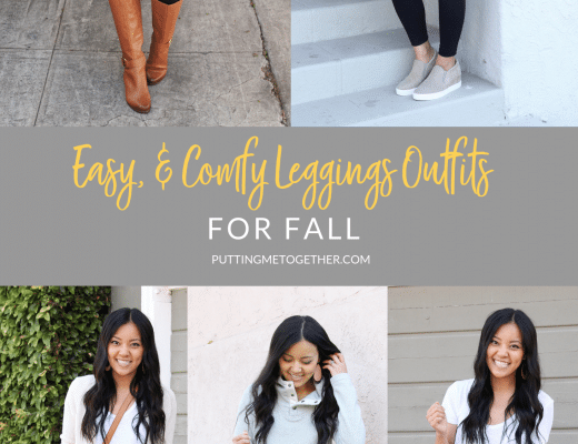 Easy, Comfy Outfits With Leggings for Fall