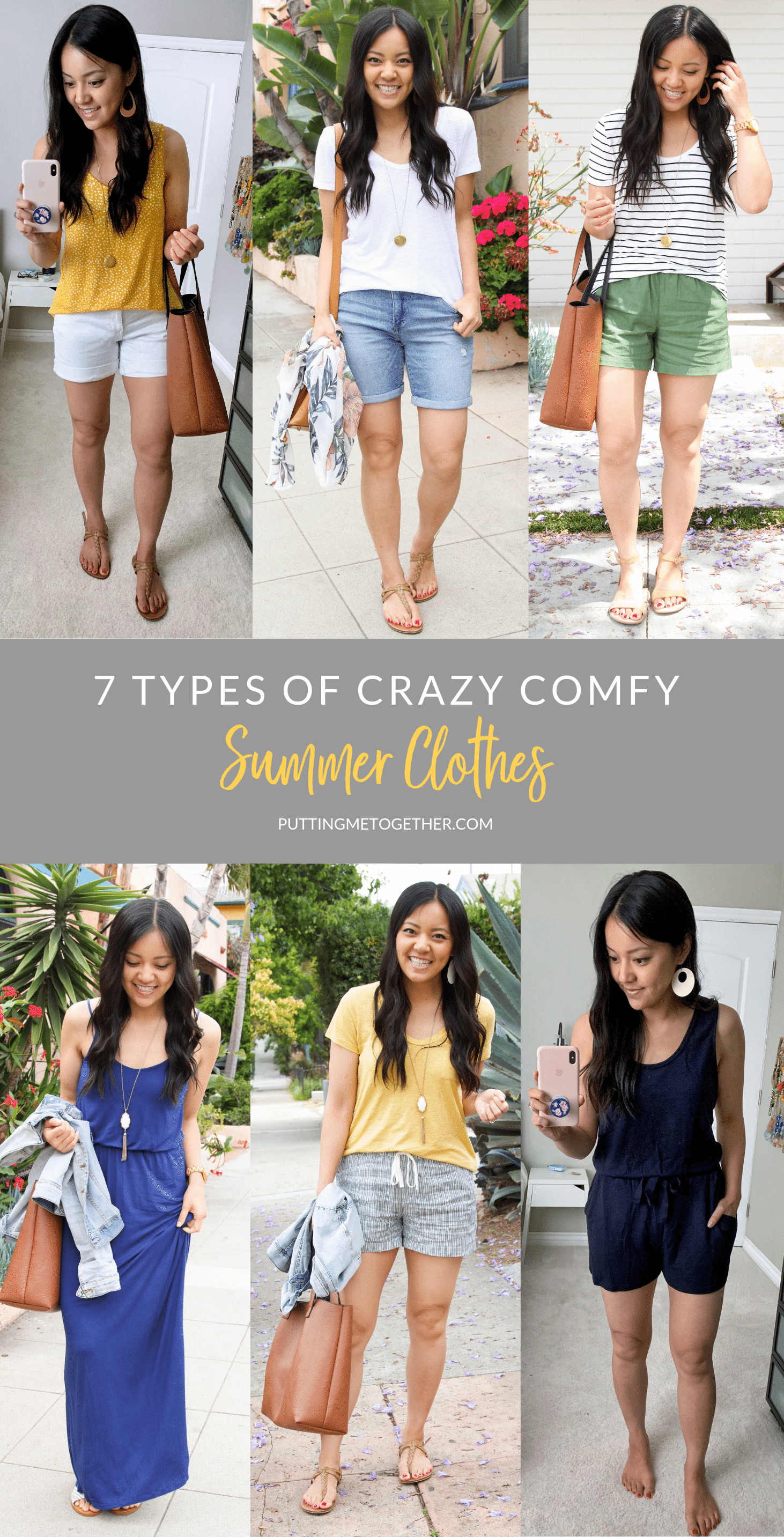 7 Types of crazy comfy summer clothes