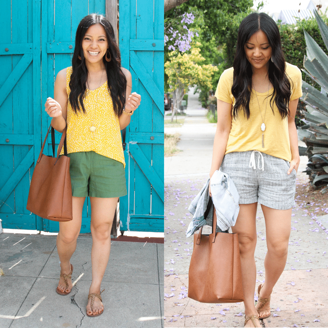 Comfy Linen Shorts