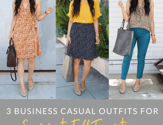 3 Business Casual Outfits for Teachers for Summer to Fall