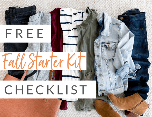 Fall Starter Kit Wardrobe Checklist