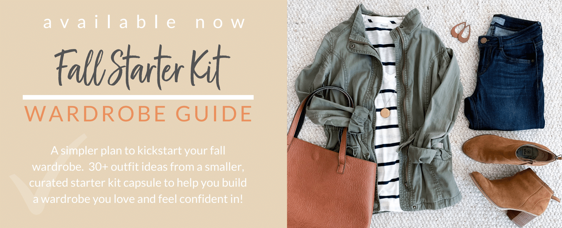 Fall Starter Kit Wardrobe Guide Now Available