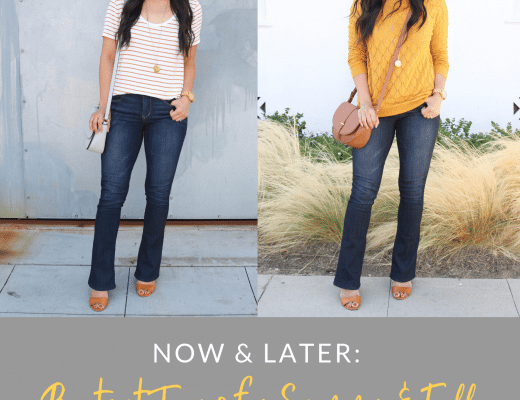 How to Wear Bootcut Jeans for Summer and Fall