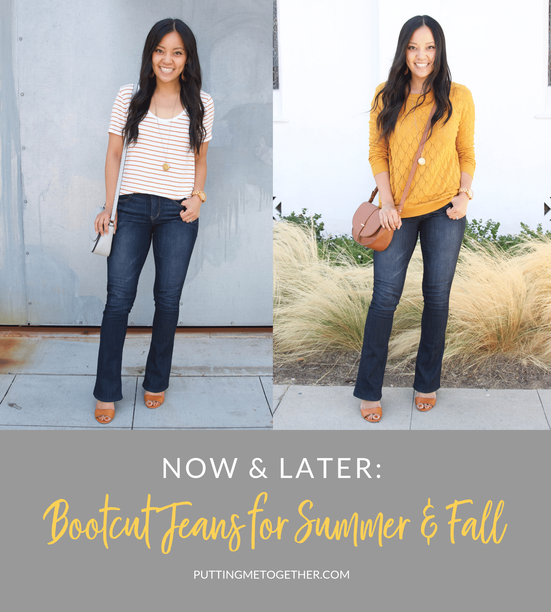 Now & Later Bootcut Jeans for Summer and Fall