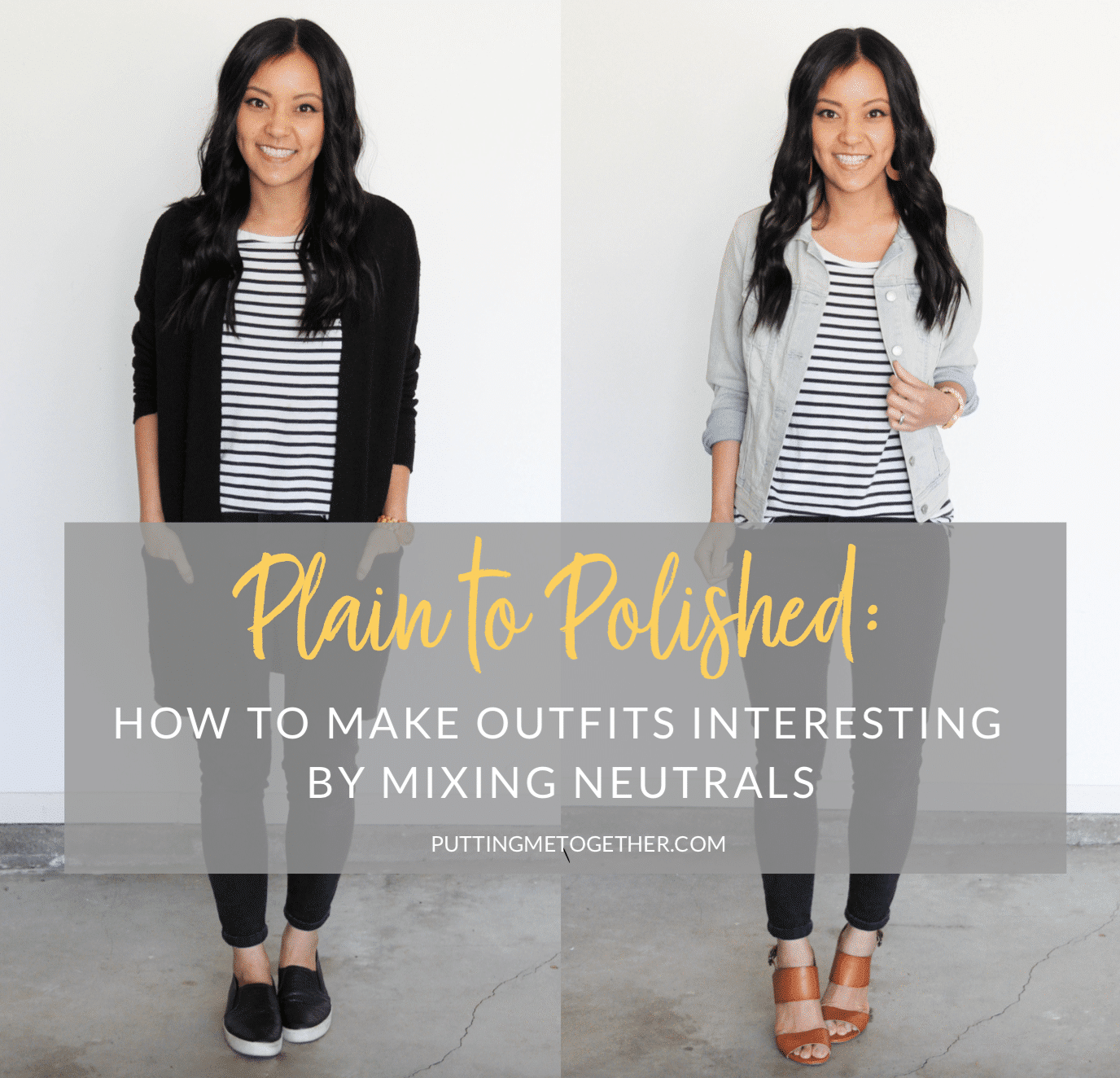 Plain To Polished: How to make outfits interesting by mixing neutrals