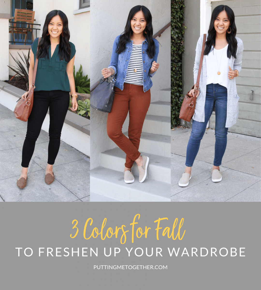 Colors for Fall to Freshen Up Your Wardrobe