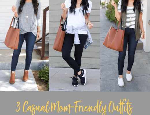 Casual Mom Friendly Outfits for Back to School