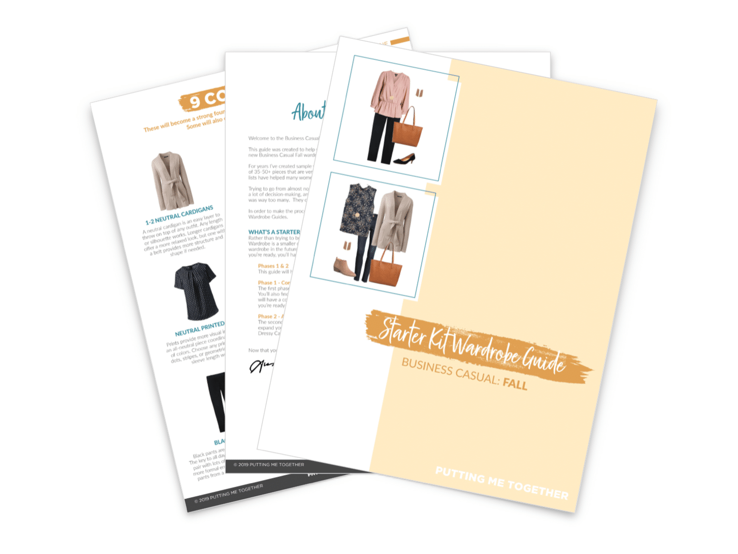 Fall Business Casual Starter Kit Wardrobe Guide Now Available!
