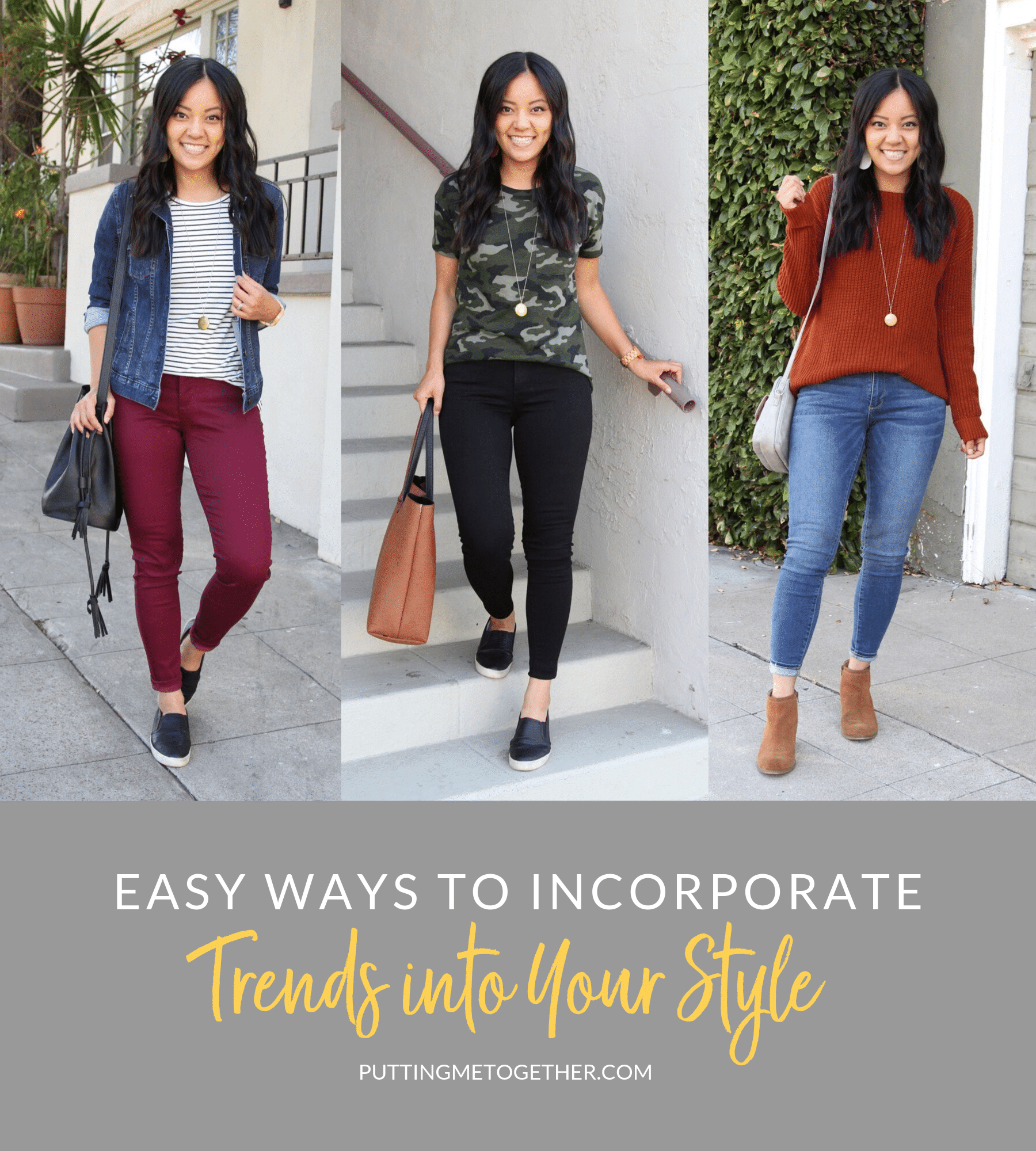 Easy ways to incorporate trends into your style