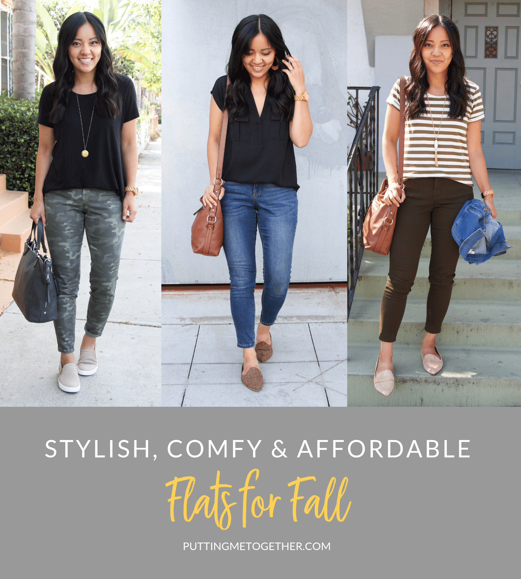 Stylish comfy and affordable flats for fall