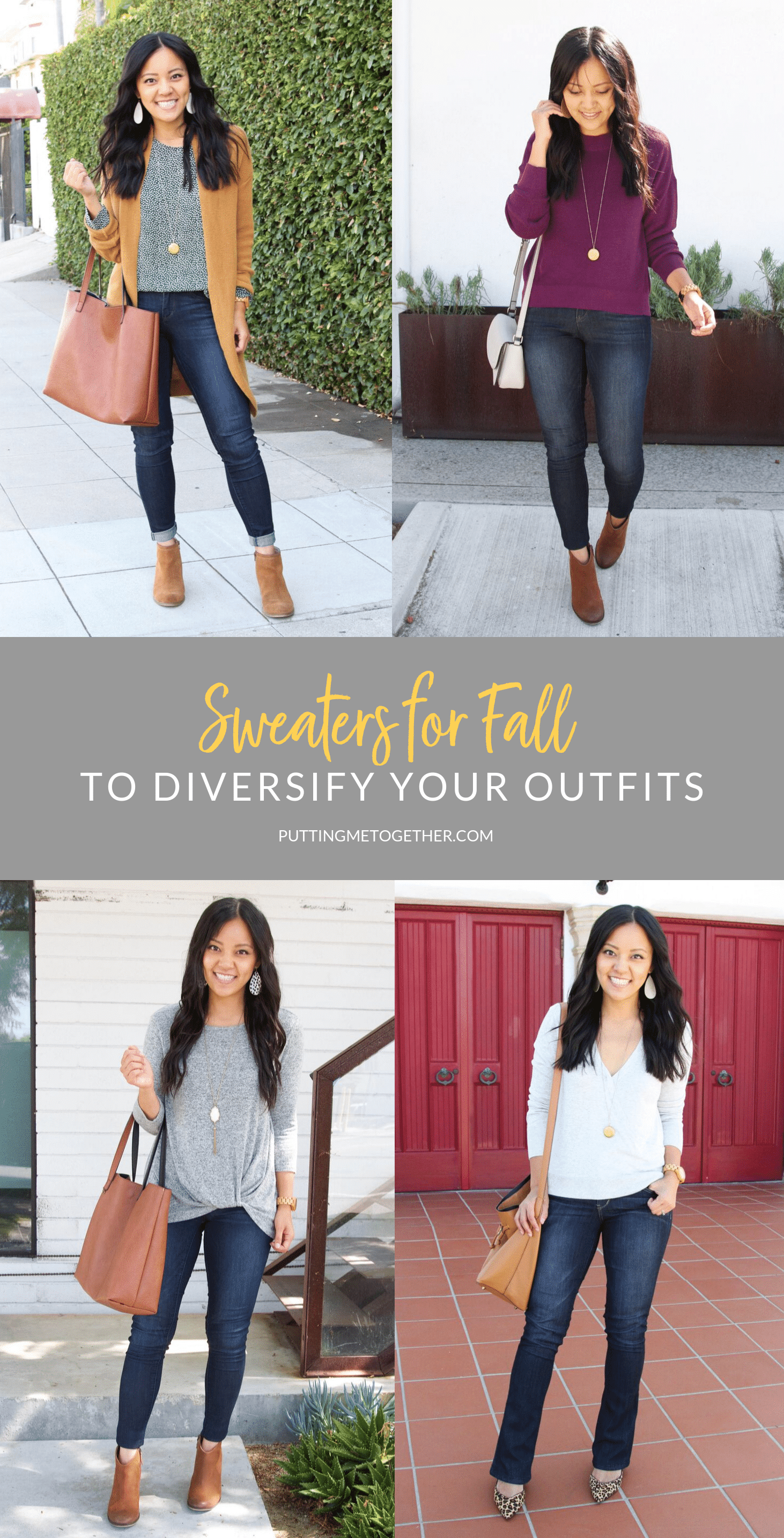 Sweaters for fall To Diversify Your outfits