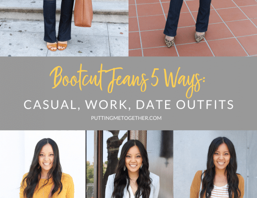 Ways to Wear Bootcut Jeans