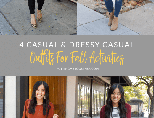 Four Casual Outfits for Fall