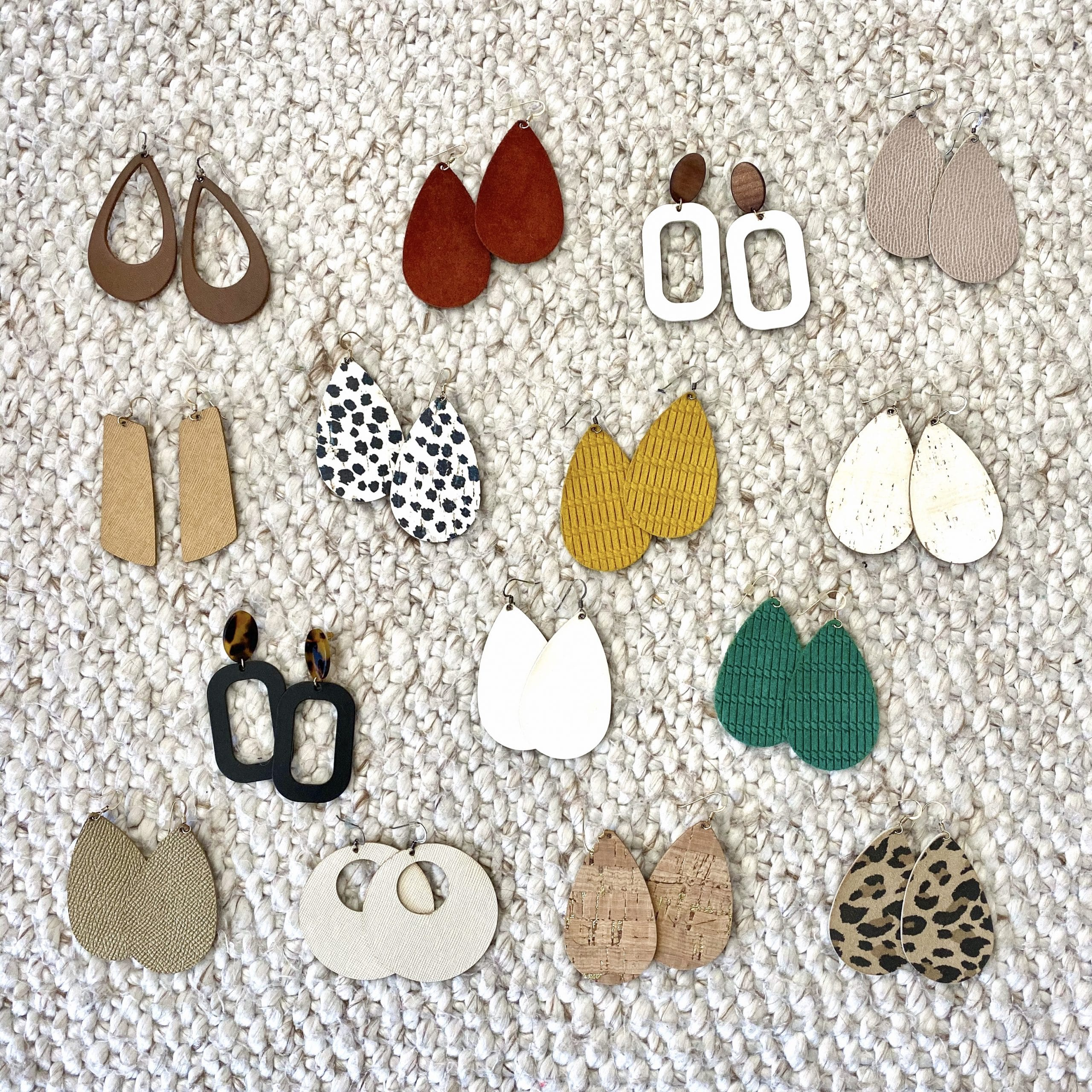 Nickel & Suede Favorite Earrings
