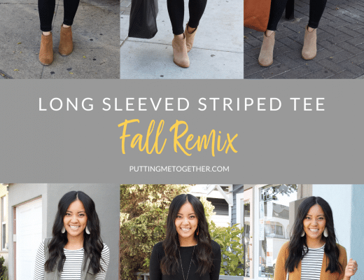 Fall Striped Tee Outfits
